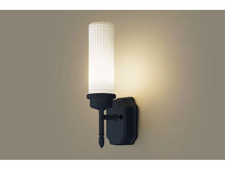 Panasonic/パナソニック LGW85204BK LEDポーチライト オフブラック【電球色】【壁直付型】