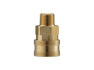 NAGAHORI/長堀工業 NAC/ナック クイックカップリング TL型 真鍮製 メネジ取付用 CTL10SM2