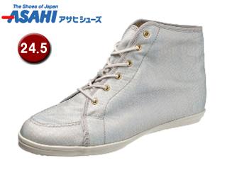ASAHI/アサヒシューズ AX11212-1 アサヒウォークランド L035GT ゴアテックス スニーカー 【24.5cm・2E】 (ホワイト/シルバー)
