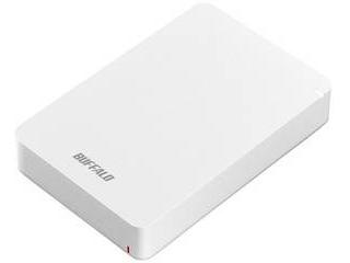 BUFFALO バッファロー USB3.1(Gen.1)対応 耐衝撃ポータブルハードディスク 4TB ホワイト HD-PGF4.0U3-GWHA