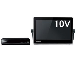 Panasonic/パナソニック UN-10T8-K(ブラック) HDDレコーダー付10V型ポータブル防水テレビ 【VIERA/プライベート・ビエラ】 【HDDレコーダー500GB内蔵】【お風呂テレビ(防水対応)】