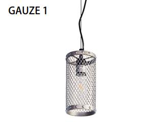 ELUX/エルックス LC10912 1灯ペンダントライト ガウゼ1 スチール ※電球別売