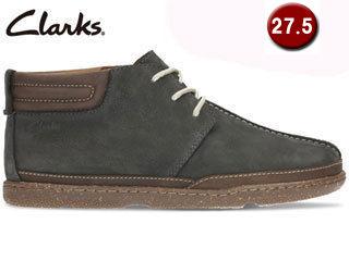 【在庫限り】 Clarks/クラークス 【在庫限り】26122271 Trapell Mid トラペルミッド メンズ 【JP27.5/UK9.5】(ネイビーヌバック)