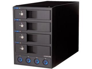 センチュリー 3.5インチHDD用ケース 裸族のカプセルホテル Ver.2 CRCH35U3IS2