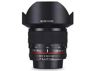 SAMYANG/サムヤン 14mm F2.8 ED AS IF UMC ソニーA用 フルサイズ 【お洒落なクリーニングクロスプレゼント!】