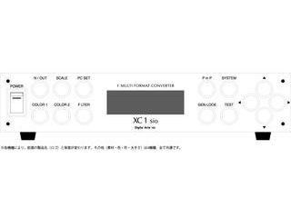 デジタルアーツ SDI入出力対応マルチフォーマットコンバータ XC1 sio