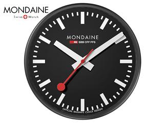 MONDAINE/モンディーン A990.CLOCK.64SBB ウォールクロック 25cm ブラック, NeXT-Bike 41ed2fff