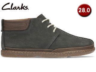 Clarks/クラークス 【在庫限り】26122271 Trapell Mid トラペルミッド メンズ 【JP28.0/UK10】(ネイビーヌバック) 掲載商品は他店舗でも同時販売しております。売り切れの際はご容赦ください。