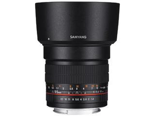 【納期にお時間がかかります】 SAMYANG/サムヤン 85mm F1.4 AS IF UMC ソニーαA用 【お洒落なクリーニングクロスプレゼント!】