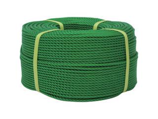 yutaka/ユタカメイク ロープ PEロープ巻物 12φ×200m グリーン PE-63