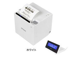EPSON/エプソン 【キャンセル不可商品】サーマルレシートプリンター/TM30UBE611+DM-D30セットモデル/ホワイト TM30611D30