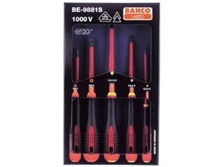 BAHCO/バーコ エルゴ絶縁タイプドライバー BE-9881S