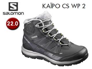 SALOMON/サロモン L39059100 KAINA CS WP 2 ウィンターシューズ ウィメンズ 【22.0】