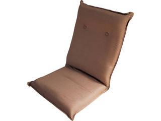 ズレ落ち防止加工 折りたたみ座椅子 ベージュ TT-06BE