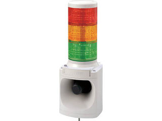 PATLITE/パトライト LED積層信号灯付き電子音報知器 LKEH-310FA-RYG