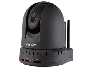 CUSTOM/カスタム IPC-01TH 熱中症監視機能付きIPカメラ