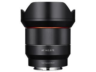 SAMYANG/サムヤン AF14mm F2.8 FE ソニーE マウント Sony E用 フルサイズ 【お洒落なクリーニングクロスプレゼント!】