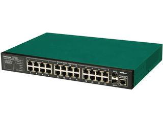 パナソニックLSネットワークス 【キャンセル不可】24ポート L2スイッチングハブ 3年先出しセンドバック保守バンドル PN28240KB3