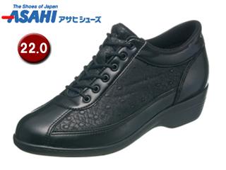 ASAHI/アサヒシューズ KS23292-1 快歩主義 L114AC 【22.0cm・3E】 (ブラック)