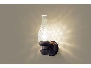 Panasonic/パナソニック LGW85210K LEDポーチライト ダークブラウンメタリック【電球色】【壁直付型】