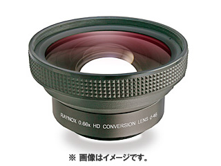 raynox/レイノックス HD-6600PRO-46 高品質ワイド(広角)レンズ【HD-6600PRO46】