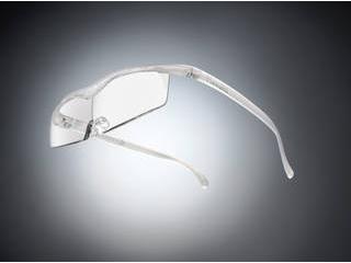 Hazuki Company/ハズキ 【Hazuki/ハズキルーペ】メガネ型拡大鏡 コンパクト クリアレンズ 1.32倍 パール 改良版 【ムラウチドットコムはハズキルーペ正規販売店です】