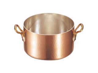 MAUVIEL/ムヴィエール 銅 半寸胴鍋(蓋無)2151-32 32