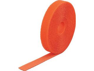 TRUSCO/トラスコ中山 マジック結束テープ 両面 オレンジ 40mm×25m MKT-40250-OR