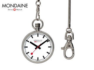 MONDAINE/モンディーン A660.30316.11SBB ポケットウォッチジェネレーション ホワイト