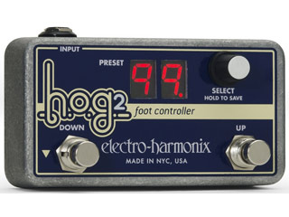 【nightsale】 【納期にお時間がかかります】 electro harmonix/エレクトロハーモニクス HOG2 Foot Controller HOG2用コントローラー エフェクター 【国内正規品】
