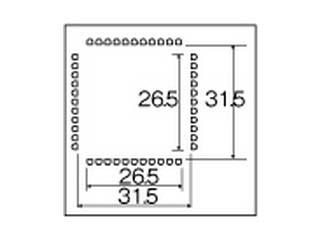 HOZAN/ホーザン HS-632 ノズル ベントピン仕様 (44ピン)