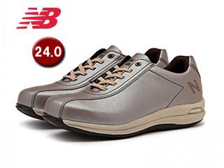NewBalance/ニューバランス WW863-RS2-2E トラベルウォーキングシューズ ウィメンズ 【24.0】【2E(幅広)】(ローズシルバー)