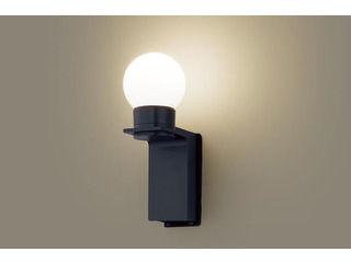 Panasonic/パナソニック LGW85212K LEDポーチライト オフブラック【電球色】【壁直付型】