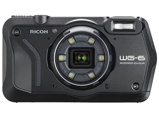 【お得なセットもあります!】 RICOH/リコー 【納期未定】WG-6(ブラック) 防水コンパクトデジタルカメラ