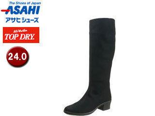 ASAHI/アサヒシューズ AF38949 TDY38-94 トップドライ ブーツ レディース 【24.0】 (ブラックPB)