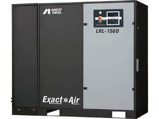 【組立・輸送等の都合で納期に1週間以上かかります】 ANEST IWATA/アネスト岩田コンプレッサ 【代引不可】給油式スクリューコンプレッサD付き60Hz22kW LRL-220DM6