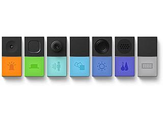 アプリで簡単に仕掛けをつくれる/子どもでも大人でも一緒に楽しめる SONY/ソニー MESH アドバンスセット MESH-100B7A iOS/Androidアプリ ボタン/LED/動き/人感/明るさ/温度・湿度/GPIO STEM教育(プログラミング教育)
