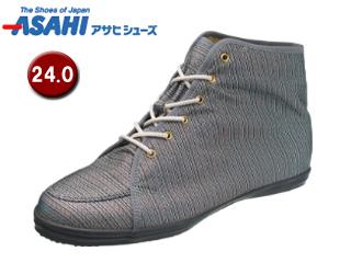 ASAHI/アサヒシューズ AX11213-1 アサヒウォークランド L035GT ゴアテックス スニーカー 【24.0cm・2E】 (ブラック/シルバー)