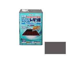 ASAHIPEN/アサヒペン 水性シリコンアクリルトタン用 14L グレー