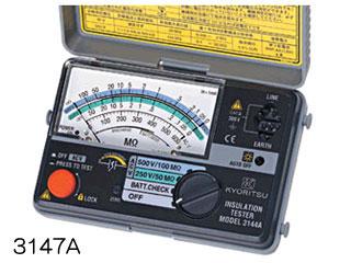 KYORITSU/共立電気計器 キューメグ 3147A 2レンジ小型絶縁抵抗計