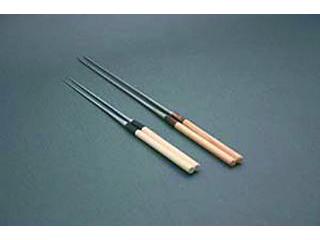 ※こちらの商品は「30cm」のみの単品販売になります。 水牛桂柄盛箸 30cm