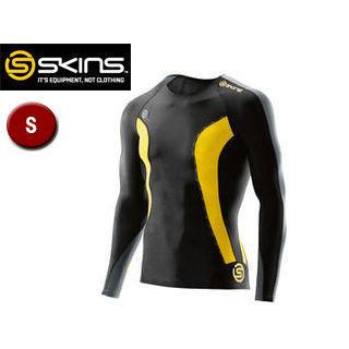 SKINS/スキンズ DK9905005-BKCR DNAMIC メンズ ロングスリーブトップ 【S】 (ブラック×シトロン)