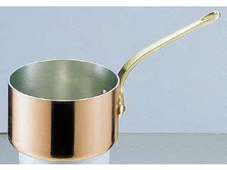 MARUSHIN/丸新銅器 SAエトール銅 片手深型鍋/15cm