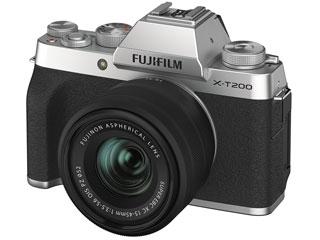 FUJIFILM/フジフイルム F X-T200LK-S(シルバー) FUJIFILM X-T200レンズキット