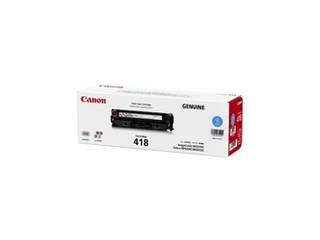 CANON/キヤノン トナーカートリッジ418 シアン 2661B004 CRG-418CYN