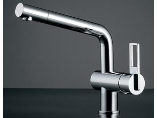 『3年保証』 117-028 シングルレバー混合栓:エムスタ KAKUDAI/カクダイ-木材・建築資材・設備
