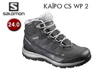 SALOMON/サロモン L39059100 KAINA CS WP 2 ウィンターシューズ ウィメンズ 【24.0】