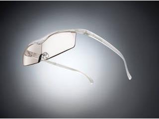 Hazuki Company/ハズキ 【Hazuki/ハズキルーペ】メガネ型拡大鏡 コンパクト カラーレンズ 1.32倍 パール 改良版 【ムラウチドットコムはハズキルーペ正規販売店です】