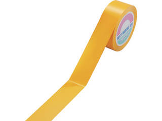 J.G.C./日本緑十字社 ガードテープ(ラインテープ) 黄 50mm幅×100m 再剥離タイプ 149033