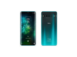 TCL ティーシーエル 6.47型  SIMフリースマートフォン TCL-10 Pro Forest Mist Green T799H-2BLCEU12 nanoSIMx1/ドコモ/au/ソフトバンク対応